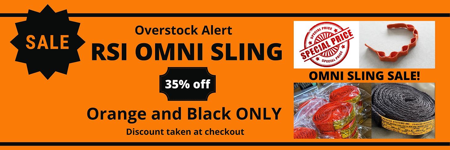 RSI Omni Sling Discount Wix Banner Orang