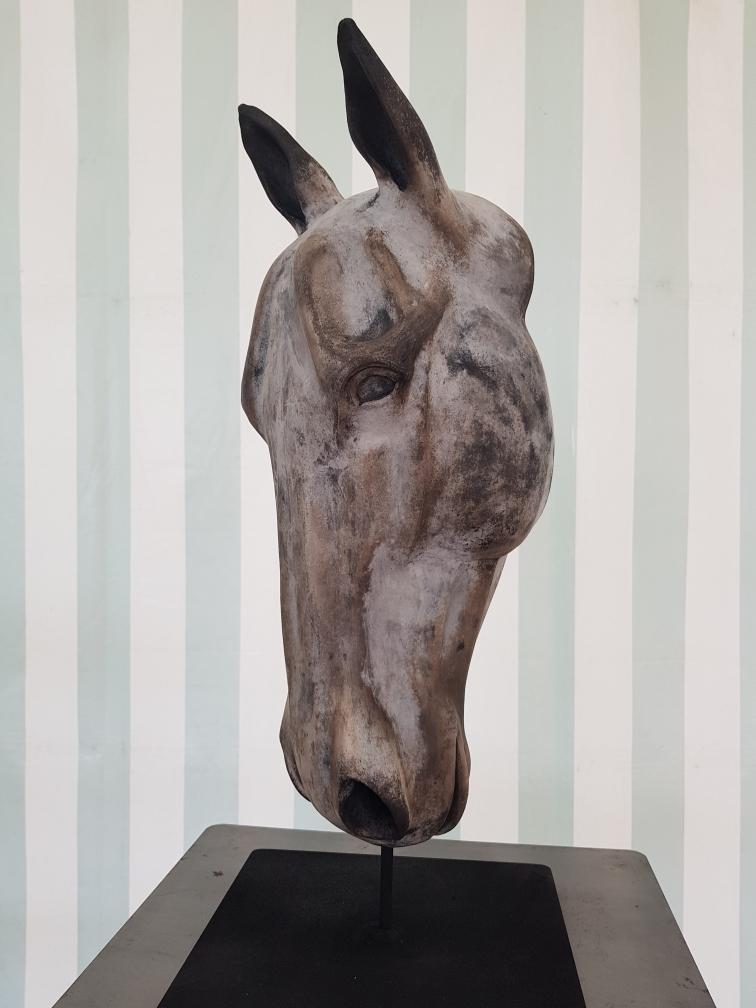 Tête cheval - Raku