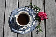 Kaffekopp, vintageporslin
