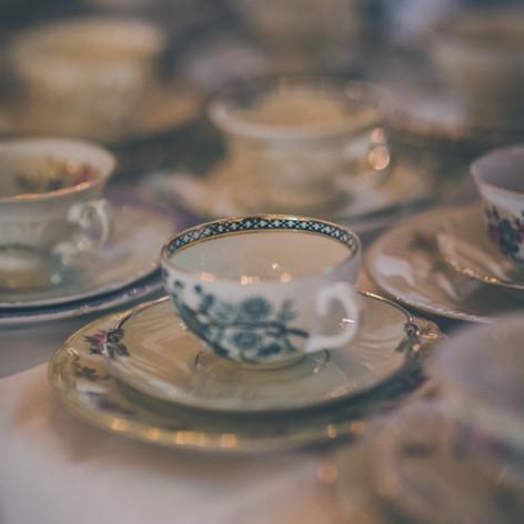 Kaffekoppar till tårtan