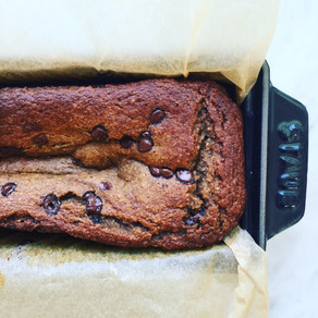 Easiest Gluten Free Banana Bread with Choc Chips