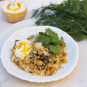 Chickpea and Saffron Plov