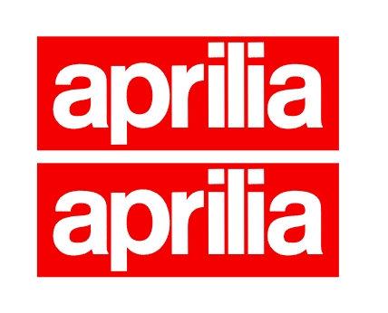 Aprilia fondo rojo pareja