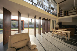 living room to deck