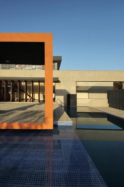 gazebo with pool