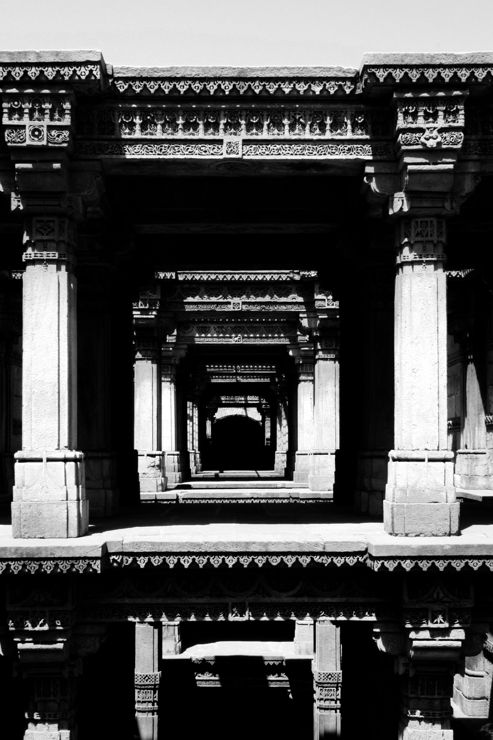 play of light & shadow:stepwell