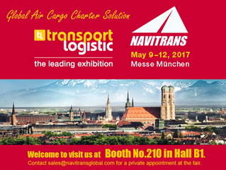 Navitrans attending the world's leading transport logistic exhibition 2017 in Munich