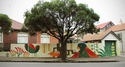 Perfect Match Mural in Marrickville