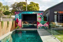 Australian Native Flowers Pool Area by Geebs