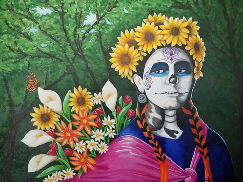 Garcia Bernal, Veronica - Dia de los Muertos - Day of the Dead
