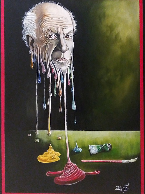 Jose Sanchez, Picasso la Esencia De ColorPicasso the Essence of Color