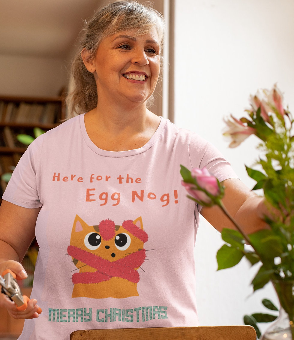 Here For The Egg Nog