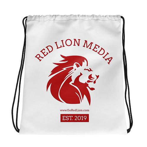 Red Lion Media - Drawstring bag