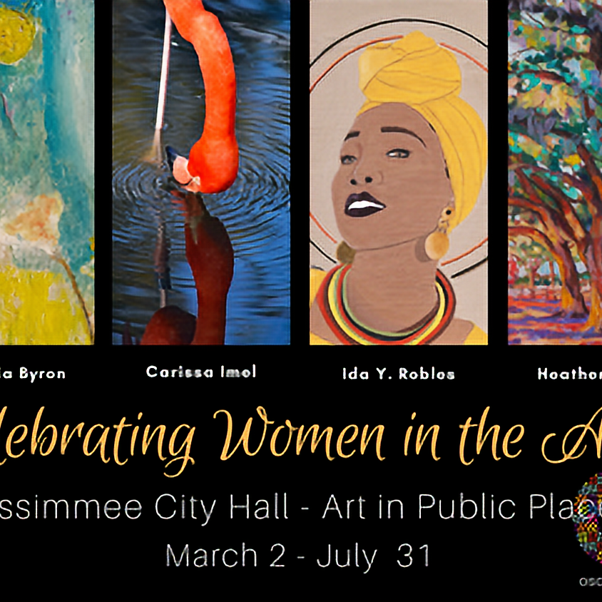 Celebrating Women in the Arts at Kissimmee City Hall