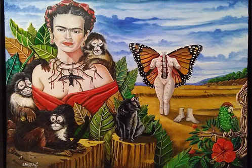 Jose Sanchez, Frida Sentimiento y Dolor Frida Feeling and Pain