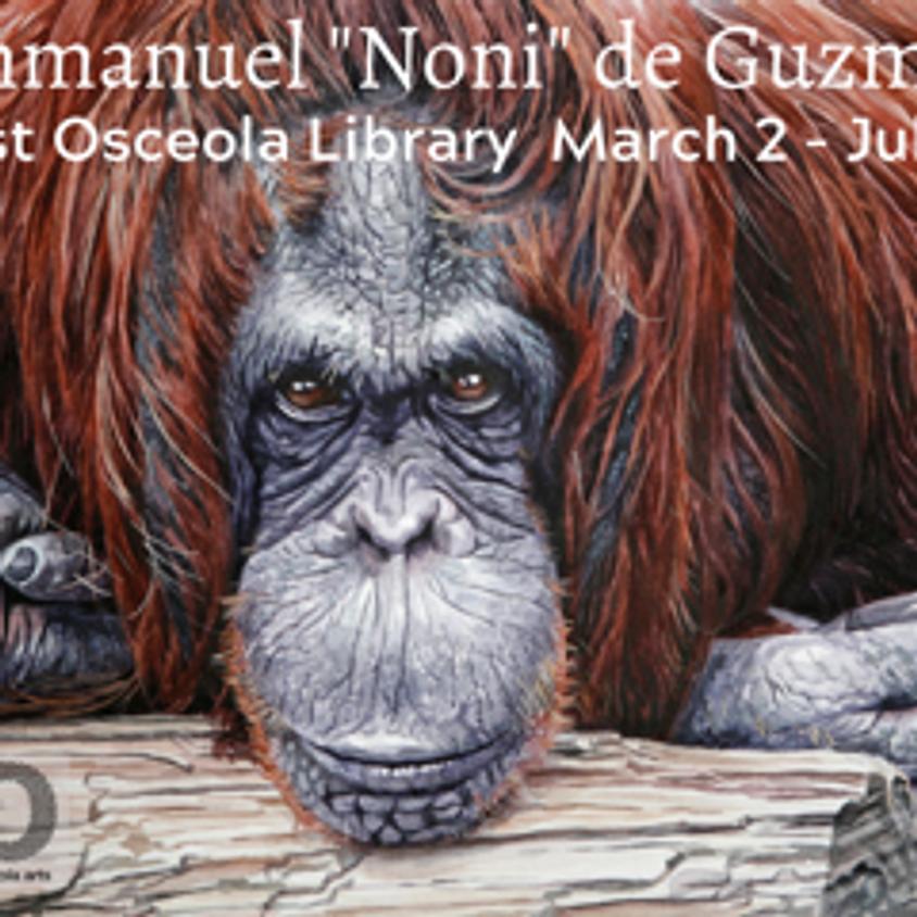 """Emmanuel """"Noni"""" de Guzman at West Osceola Library"""