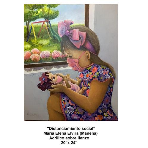 Elvira, Maria (Manena) - Distanciamiento Social - Social Distancing,