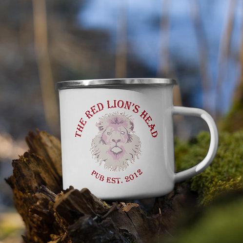 Red Lion's Head Pub - Enamel Mug