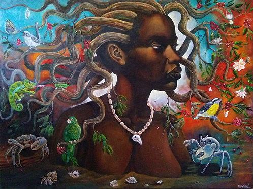 Jose Sanchez, Yuiza Raices Negras Afro-Taino Queen Yuiza