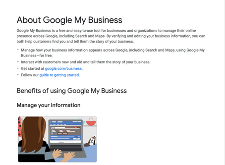 Are you using Google My Business?  Why not?