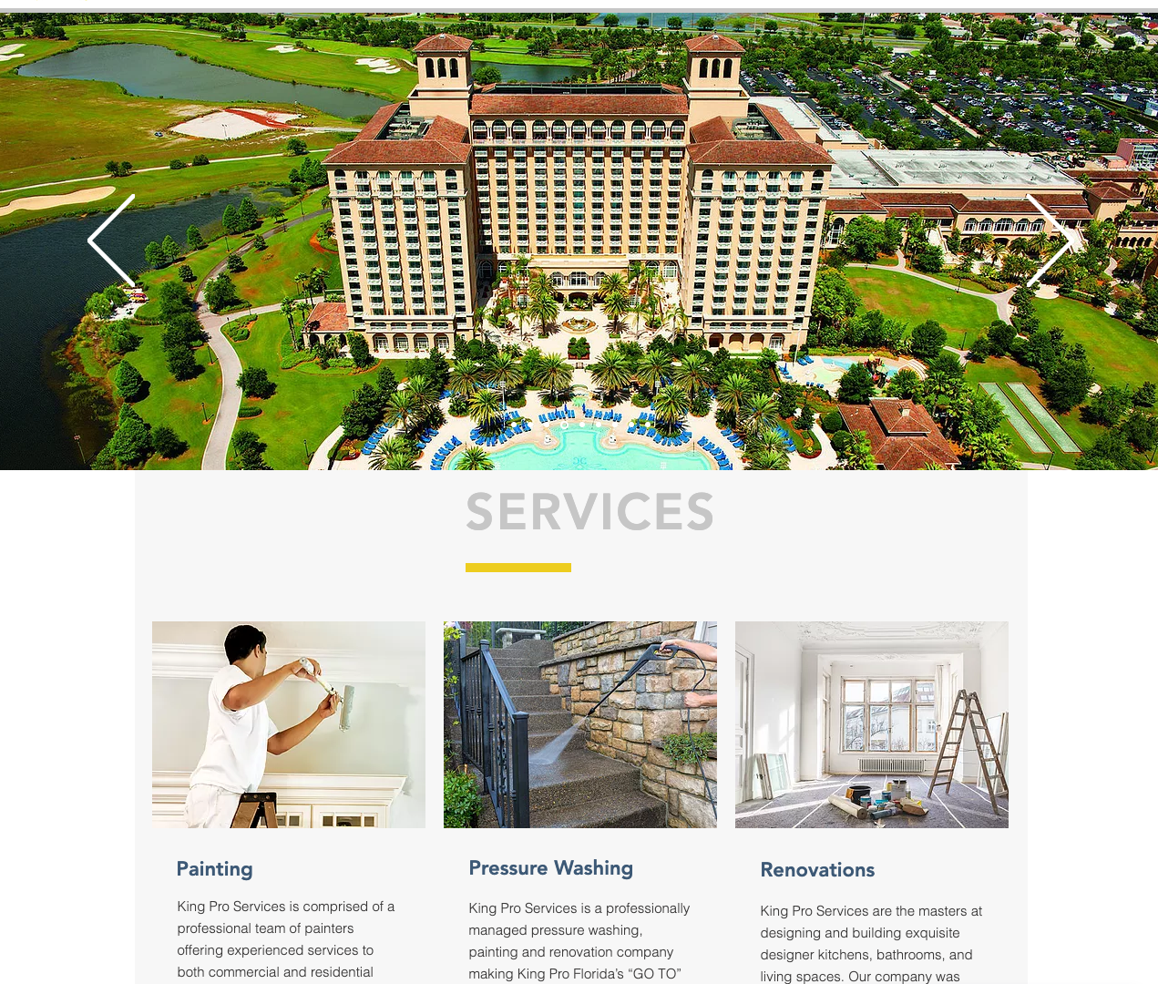 GoKingPro.com Home page
