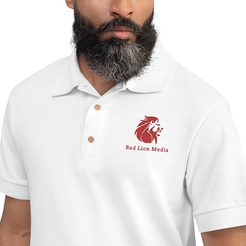 Red Lion Media - Embroidered Polo Shirt