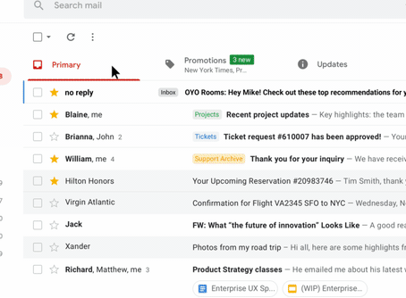 New Gmail features... always helpful new tools for any small business!
