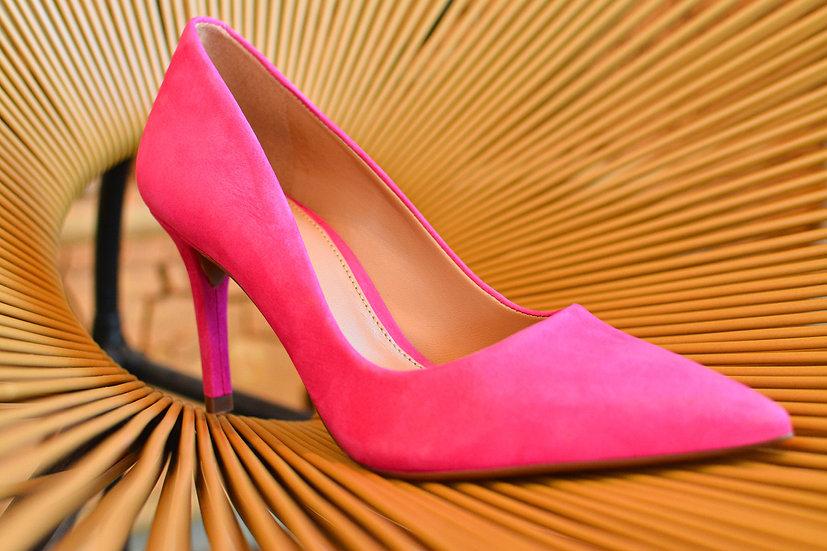 Sapato Médio Acamurçado