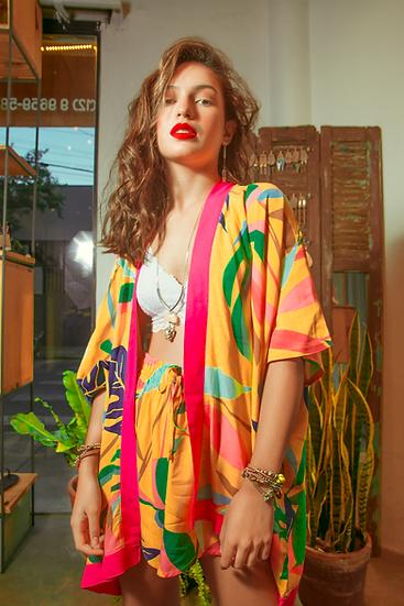Kimono Japa Afeto Amarelo Favela Hype