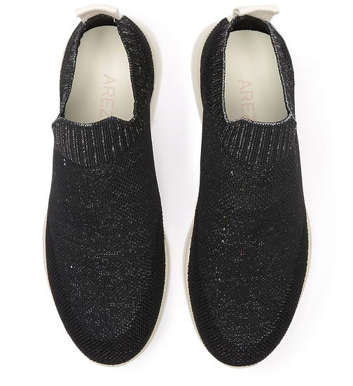 Slip On Preto Multimaterial ZZ Bio