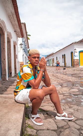 Camisa Favela Hype Estampa Abstrato