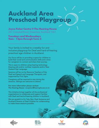 Auckland Area Preschool Playgroup