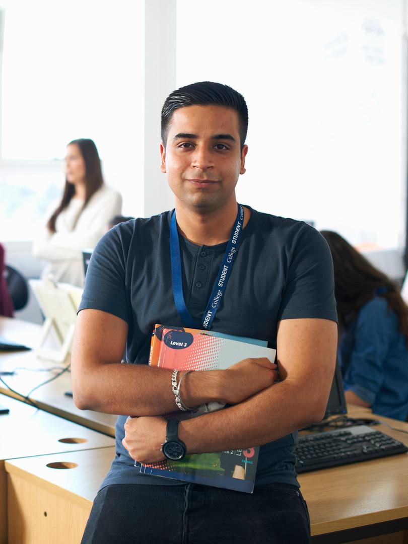 Male Admin Employee