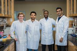Part of Lewis Lab Team