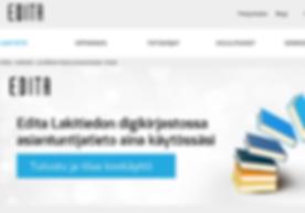 Editashop Edita Publishing Verkkokauppa