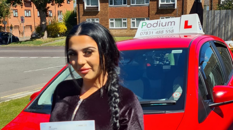 Driving Test Pass in Bromley
