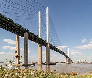 Dartford Crossing Bridge   QE2 Bridge