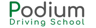 Podium Driving School Web Logo
