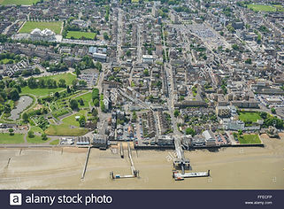 Gravesend Town Aerial View
