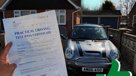 Driving Test Pass in Sevenoaks
