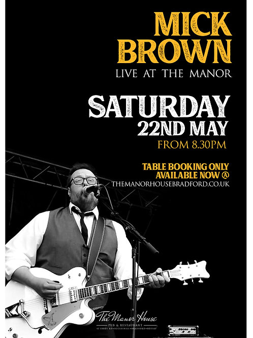 Mick Brown Tickets