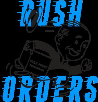 Rush order for choreography