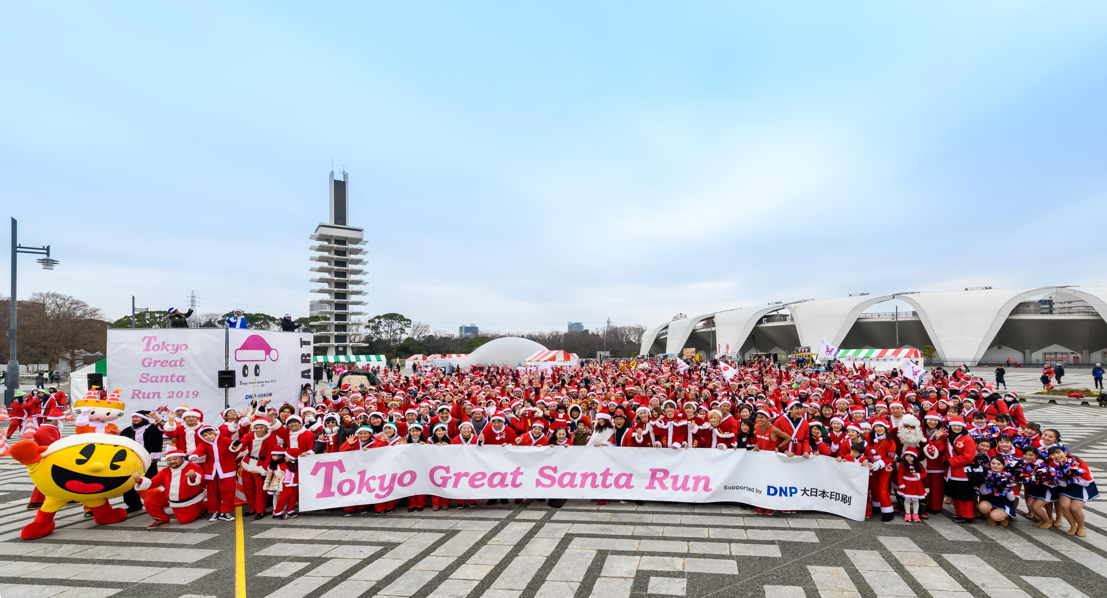 東京グレートサンタラン 2019の様子