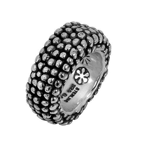 טבעת כסף עבודת יד