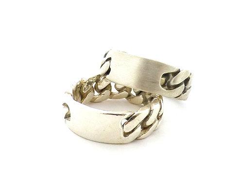 טבעת גורמט כסף סטרלינג