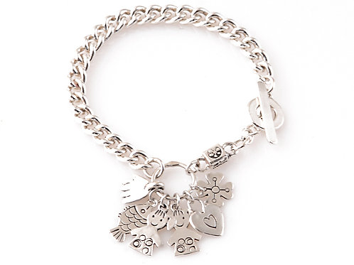 Sterling Silver 925 Chain Bracelet