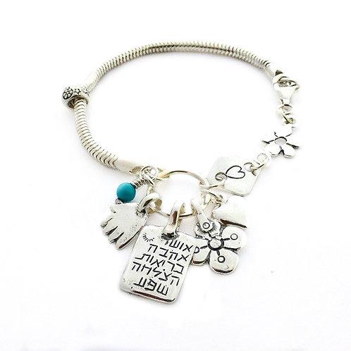 Silver Bracelete Pandent