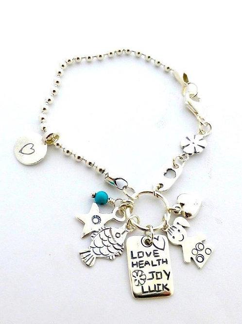 Silver Bracelet Silver Ball Chain