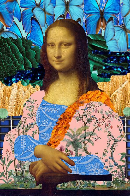 Mona Lisa and the Technicolor Dream Coat