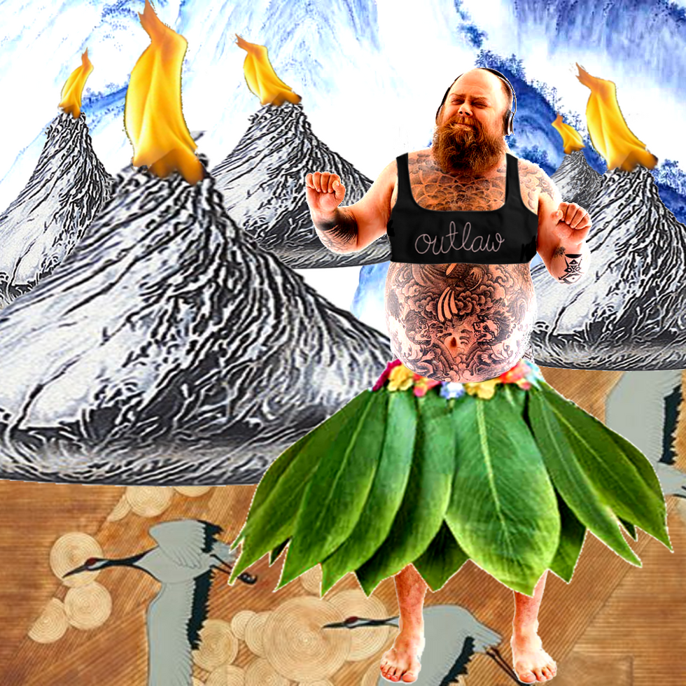 The Land of Volcanos and Body Positive Hula Dancers